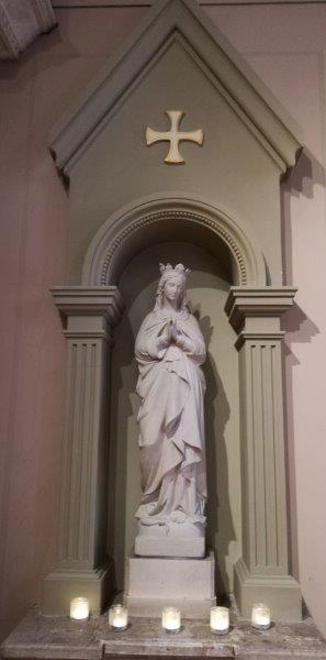 Temps de prière à Marie